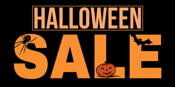 halloween weekend store wide sales all 3 stores friday 1027 sunday 1029
